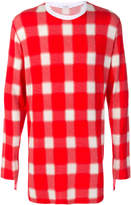 Givenchy oversize checkered sweater