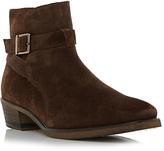 Bertie Cubaa Suede Boots, Brown