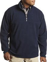 Harbor Bay 1/4-Zip Fleece Pullover Casual Male XL Big & Tall