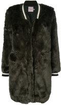 Urban Code Urbancode faux fur bomber coat