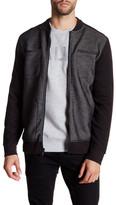 Calvin Klein Jeans Bonded Knit Zip Jacket