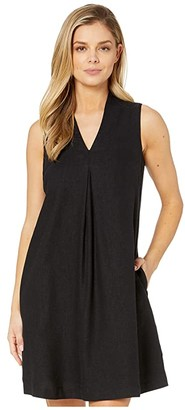 Tommy Bahama Daphne Shift Dress Sleeveless (Black) Women's Dress