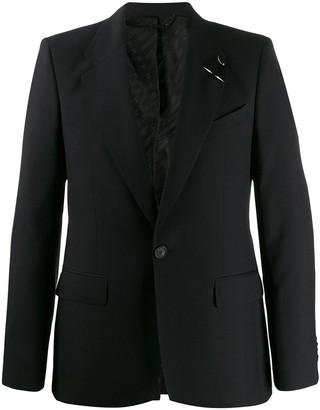 Givenchy Piercing-Detail Blazer