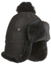UGG Genuine Shearling Pom Hat