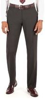 Thomas Nash Charcoal Plain Weave Tailored Fit Suit Trouser