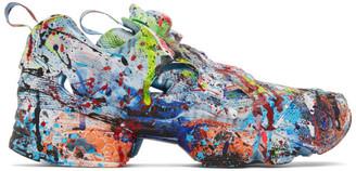 Vetements Multicolor Reebok Edition Instapump Fury Sneakers