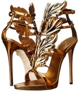 Giuseppe Zanotti Patent Winged Sandal Women's Shoes