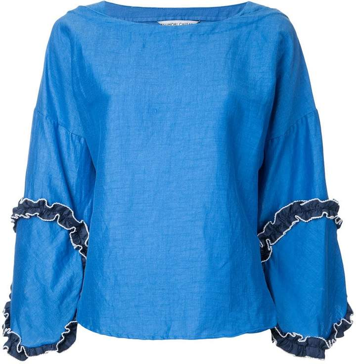 Tsumori Chisato frill detail blouse