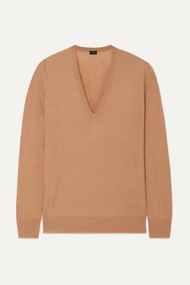Joseph Cashmere Sweater - Camel