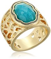 Laundry by Shelli Segal Center Stone Ring, Size 7