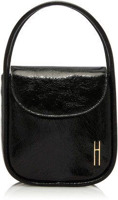 Hayward Lucy Patent Leather Shoulder Bag