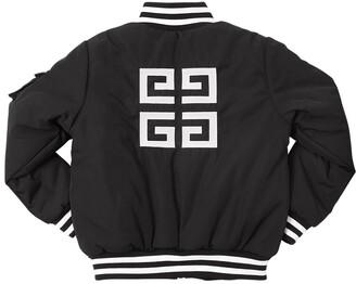 Givenchy Padded Nylon Bomber Jacket