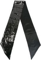 DSQUARED2 sequin embellished scarf