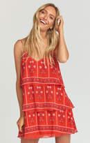 MUMU Ramirez Ruffle Dress ~ Bandana Bandit