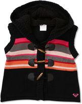 Roxy Kids Vest, Little Girls Sherpa-Lined Sweater Vest