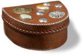Ralph Lauren Morland Leather Concho Box
