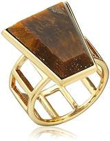 Barse Bronze and Tiger's Eye Ring