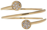 Bony Levy 18K Yellow Gold Stackable Diamond Wrap Ring - 0.09 ctw
