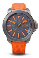 Hugo Boss 1513010 Woven Nylon Strap Watch One Size Assorted-Pre-Pack