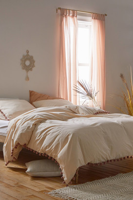 Urban Outfitters Nimmo Pompom Duvet Cover