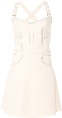 Dion Lee Stitched Mini-Dress