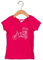 Bonpoint Girls' Bicycle Print T-Shirt