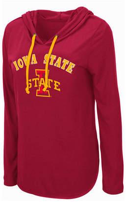 Colosseum Women Iowa State Cyclones Lightweight Hooded Long Sleeve T-Shirt
