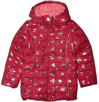 Hatley Metallic Snowflakes Puffer Coat (Toddler/Little Kids/Big Kids)