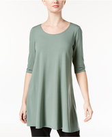 Eileen Fisher Jersey Scoop-Neck Tunic, A Macy's Exclusive