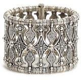 Konstantino Women's 'Penelope' Floral Metalwork Bracelet