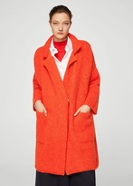MANGO Mohair knit coat