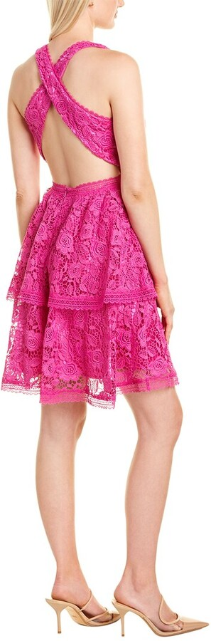 Thumbnail for your product : Theia Lace Cocktail Dress