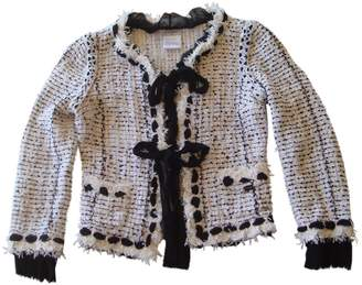 Chanel White Polyamide Jackets