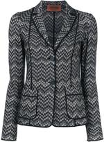 Missoni two button blazer - women - Viscose/Wool - 42