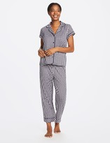 Draper James Gingham Button Down and Culotte Set