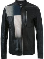 Rick Owens patchwork jacket - men - Leather - 50