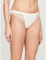 Simone Perele Nuance mid-rise stretch-jersey thong