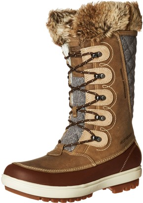 Helly Hansen W Garibaldi Vl Womens Snow Boots Beige (Camel/ Coffe Bean/ Bunge 704) 5 1/2 UK (38 2/3 EU)