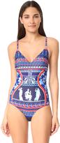 Mary Katrantzou Greek Swimsuit