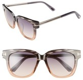 Tom Ford Women's Tracy 54Mm Retro Sunglasses - Grey/ Gradient Smoke