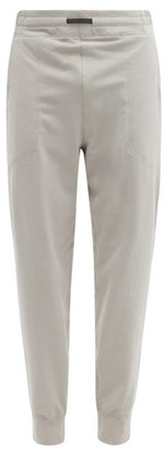 Lahgo - Restore Cotton-blend Jersey Track Pants - Grey