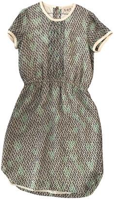 Sea New York Green Silk Dresses