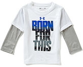 Under Armour Baby Boys 12-24 Months Born For This Slider Tee