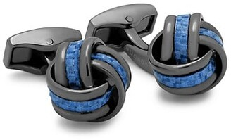 Tateossian Carbon Knot Cufflinks
