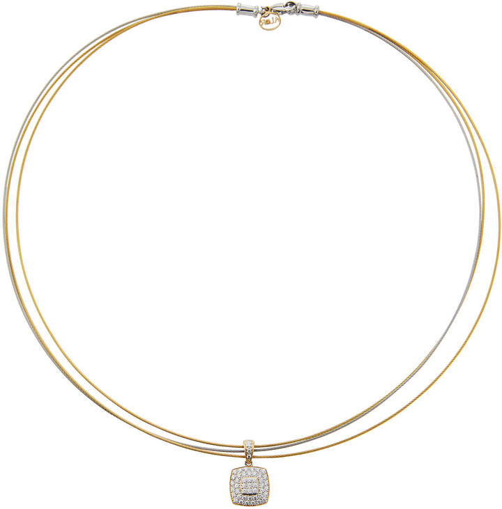 Alor 18k Diamond Pavé Pendant Necklace