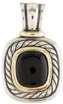 David Yurman Two-Tone Onyx Albion Enhancer