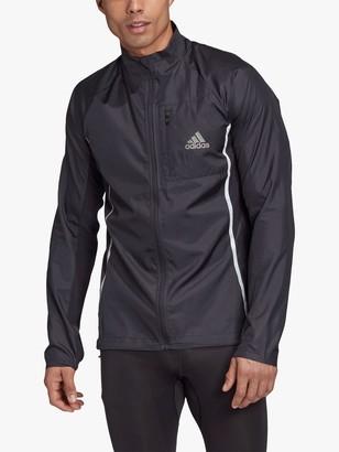 adidas Runner Men's Running Jacket, Black