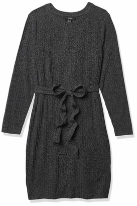 Forever 21 Women's Plus Size Ribbed Knit Sweater Dress
