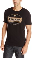 Lucky Brand Men's Triumph Oval Graphic Tee