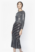 French Connection Diana Swirl Sequin Midi Dress